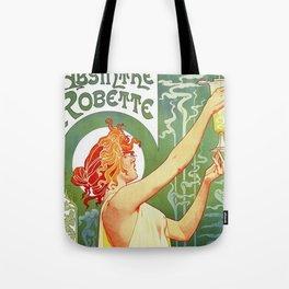 Absinthe Robette Art Nouveau Tote Bag