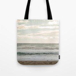 Agios Gordios beach at Corfu island, Greece Tote Bag