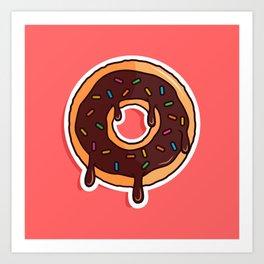 Donut Art Print