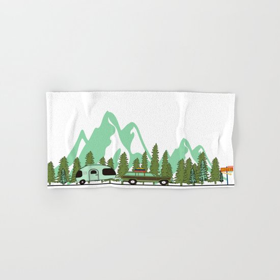 Picture Hand & Bath Towel