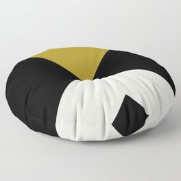 Minimal X Dark Olive Floor Pillow