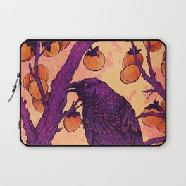 Raven and Persimmons Laptop Sleeve