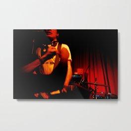 Rock Hard-Lomography Metal Print