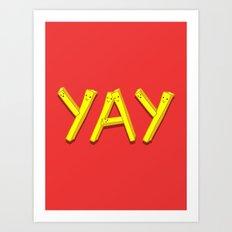 FryYAY! Art Print