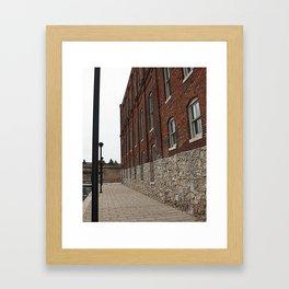 The Canal Photograph Framed Art Print