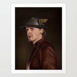 Jay Garrick (The Flash) Art Print