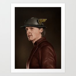 Jay Garrick (The Flash) Art Print