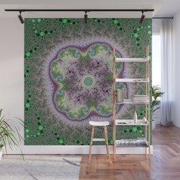 Fractal Rosette Wall Mural