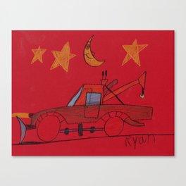 Moonlight Wrecker Service Canvas Print