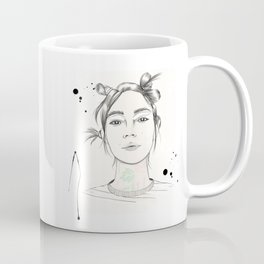 City Chic Fashion Illustration Coffee Mug