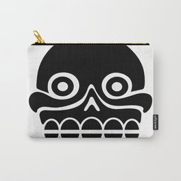 Aztec stamp with skull Carry-All Pouch