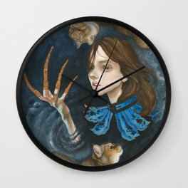 A Prince and His Puddums Wall Clock