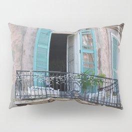 New Orleans French Quarter Balcony Pillow Sham