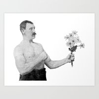 Chivalry, woman. Art Print
