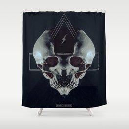 Triskull Shower Curtain