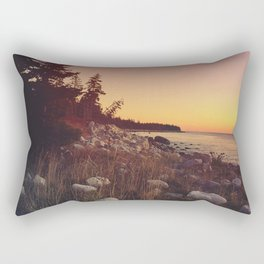 Sunset By the Sea Rectangular Pillow