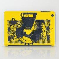 camera iPad Cases featuring Camera by Lucas del Río