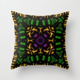 Secondary Kaleidoscope 2 Throw Pillow