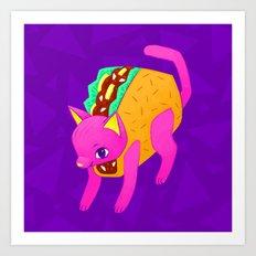 Taco Cat Art Print