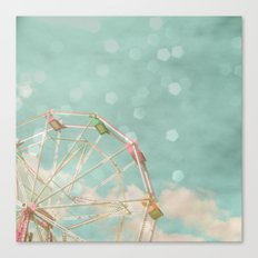 Candy Wheel Canvas Print