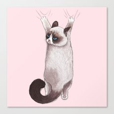 Grumpy Hang Canvas Print