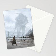 stranger in a strange land Stationery Cards