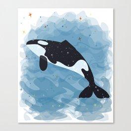 whale lover T-shirt Canvas Print