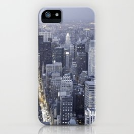 NYC from Empire State Building iPhone Case