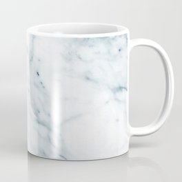 Stone cold blue faux marble texture Coffee Mug