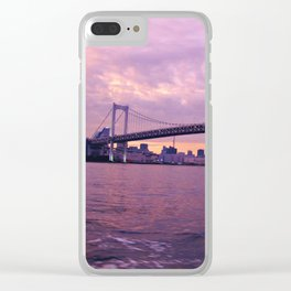Rainbow Bridge Clear iPhone Case