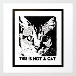 Magritte's Humor Art Print