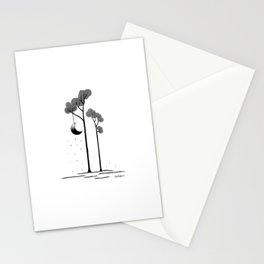 The moon trees Stationery Cards