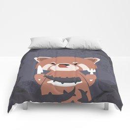 Hungry Raccoon Comforters