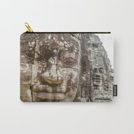 Bayon Temple, Angkor Thom, Cambodia Carry-All Pouch