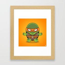 Michalengelo Framed Art Print