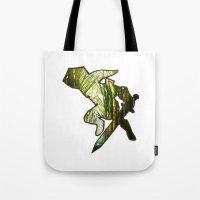 zelda Tote Bags featuring ZELDA by Loris Ori
