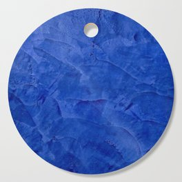 Dark Blue Ombre Burnished Stucco - Faux Finishes - Venetian Plaster Cutting Board
