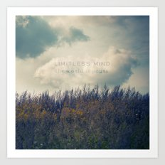 Limitless Mind Art Print