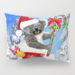 Baby Koala Christmas Cheer Pillow Sham