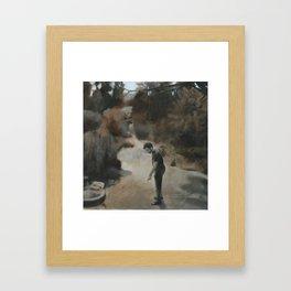 The Lasso Framed Art Print