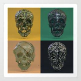 Skull Collection 04 Art Print