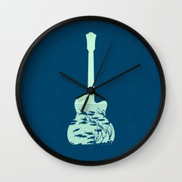 music Wall Clock
