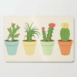 Cactus Garden Cutting Board