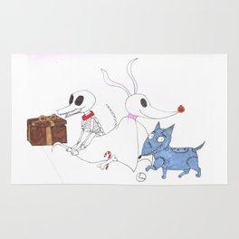 3 Dead Dogs Rug