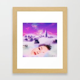 Bless UP Framed Art Print