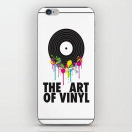 The Art of Vinyl iPhone Skin