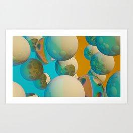 ROOBIX KOOB I Art Print