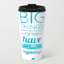 Big Things Metal Travel Mug