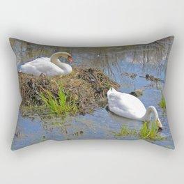 Expectant Rectangular Pillow