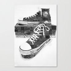 Get Chucked Canvas Print